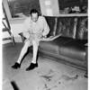 Lifeboat drill accident victim (Harbor), 1952
