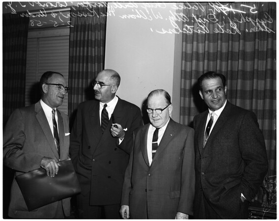 Coroners investigation, 1958