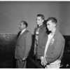 Murder and robbery charge, 1958
