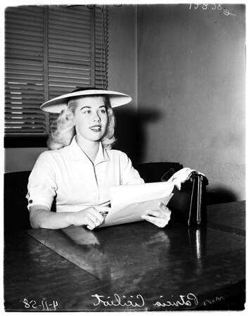 Ciciliot divorce, 1958