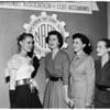 Association: National Secretary at Biltmore Hotel, 1954