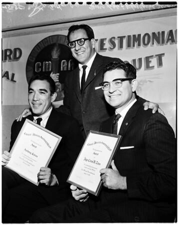 Mexican award dinner, 1958
