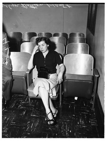 Inquest in death of Betty Jane Hendrickson on Dec-15 1957, 1958