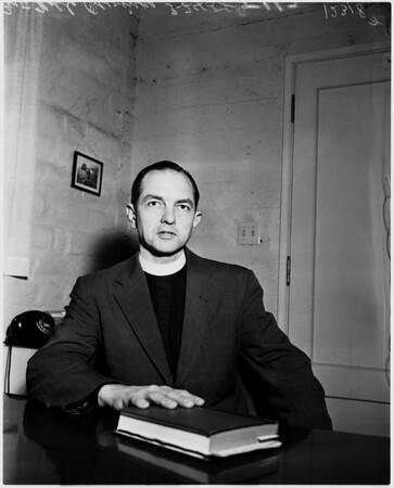 Reverend Noble Owings, 1958.