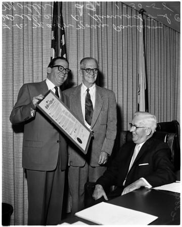 Himrod retirement, 1958
