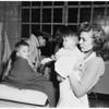 Storm victims (Georgia Street Hospital), 1952