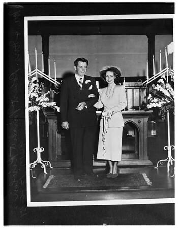 Mr. and Mrs. Robert Vincent Kivlin, 1951