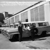 Ambulances for county, 1958