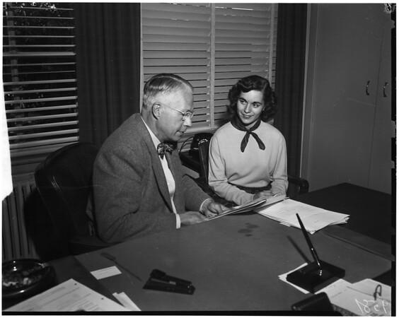 Better business girl of 1952, 1952