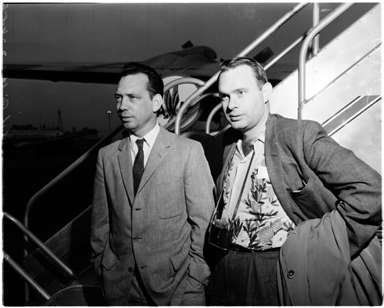 Explorer the 3rd scientists, 1958