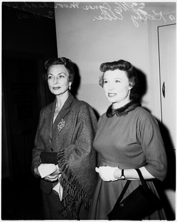 Agnes Moorhead divorce, 1958