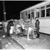 Truck vs. street car, 1951