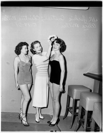 Harbor Day princess, 1951
