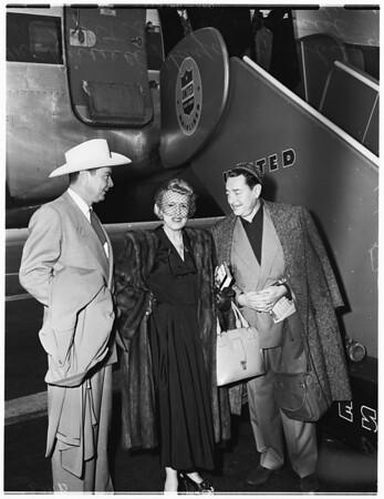 To visit Uruguay, 1952