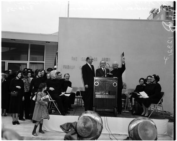 Salvation Army, 1958