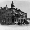 San Gabriel Valley Bank, at the corner of Fair Oaks Avenue and Colorado Street, ca. 1880-1910