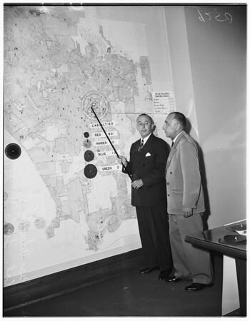 Civil defense, 1951