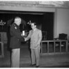 Hero awards (Fort MacArthur Chapel), 1952