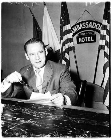 Senatorial candidate, 1958