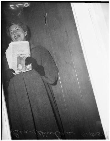 Bea Winters (Mrs. Jack Solomon), 1951
