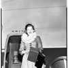 Arrival from Hawaii, 1952