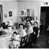 Saint Joseph's feast (table), 1958.