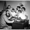 Children to receive Social Security checks after parents died, 1958