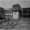 Construction of the north wing of the Pasadena City Hall, 1926
