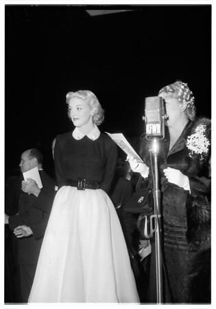 "Premiere of ""Ace in the Hole"", 1951"