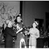 Fashion show -- Ambassador Hotel, 1958