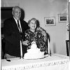 60th wedding anniversary, 1958