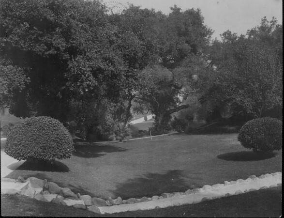 The landscape of Busch Gardens, ca. 1910-1940