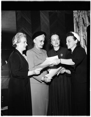 National Business Women's Week, 1952