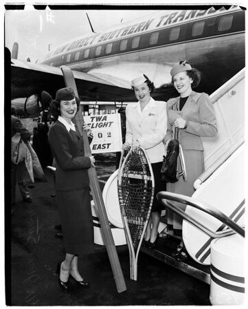 From Trans World Airlines, International Airport, 1952