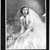 Cynthia Ann Rawlins (Wedding picture -- copy), 1952