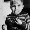 David, an orphan at the Los Angeles Orphans Home, 1940