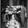 "Operation Santa Claus (Special Flight of ""Yule Fuel"" for United States Wounded Overseas Via Pan-American -- Gifts Gathered by Trailer Coach Association), 1951"