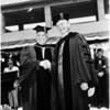 University of California Los Angeles graduation, 1958