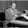 Interview at Ambassador [Hotel], 1958