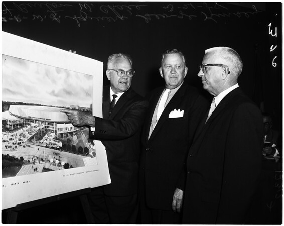 Coliseum Commission, 1958