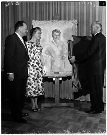 June Allyson award, 1958