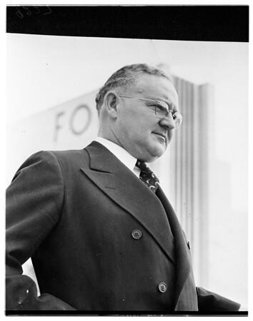 Mayor Fletcher Bowron (copy), 1951