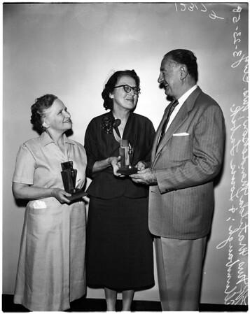 Golden Deed award presentation (City of Hope), 1958