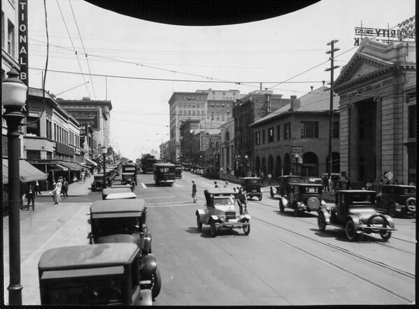 Colorado boulevard, 1929
