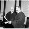Judge retires, 1958