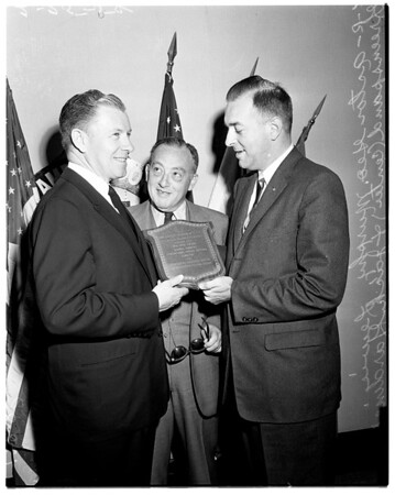 Business show award, 1958