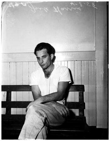 Bertha Lipson murder suspect, 1958