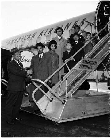 Japanese envoy, 1958.