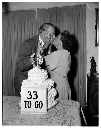Chef Milani's anniversary, 1951
