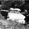Kids steal car -- wreck same, 1958